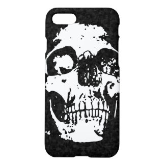 Radical Skull on Black iPhone case