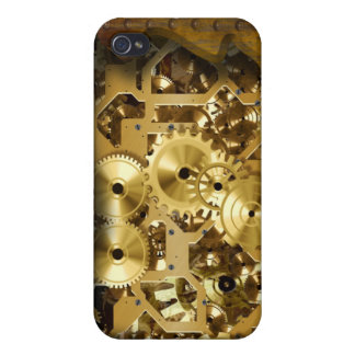 Radical Steampunk 3 Case Cover For iPhone 4
