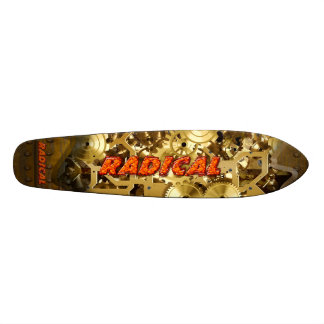 Radical Steampunk 3A Skateboard