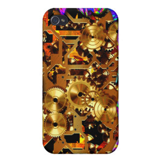 Radical Steampunk 6 Case Cover For iPhone 4