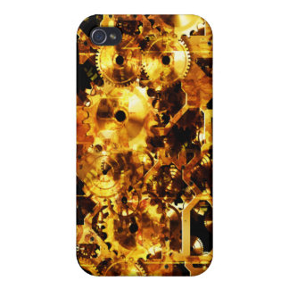 Radical Steampunk 7 Case Cover For iPhone 4