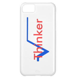 Radical Thinker (Blue and Red) iPhone 5C Case