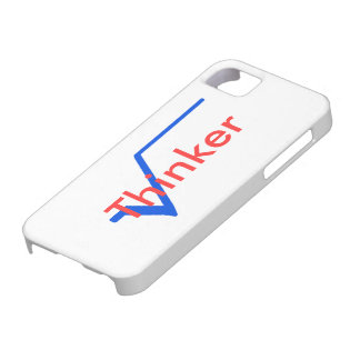 Radical Thinker (Blue and Red) iPhone 5 Cover