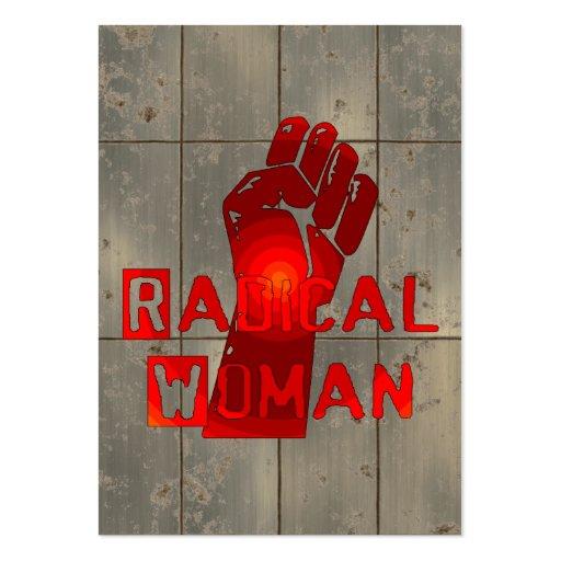 Radical Woman Business Card