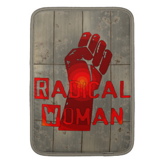 Radical Woman MacBook Air Sleeves