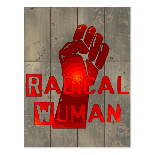 Radical Woman Postcard