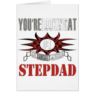 Radically Awesome Stepdad Card
