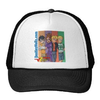 Radicals Main Cast - Color Bars Mesh Hat