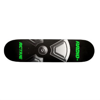 RADIO- ACTIVE CUSTOM SKATEBOARD