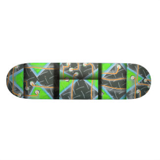 """Radio Active"" Skate Deck"