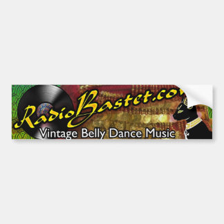 Radio Bastet Bumper Sticker