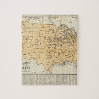 Radio Broadcasting Stations Of The United States Jigsaw Puzzle
