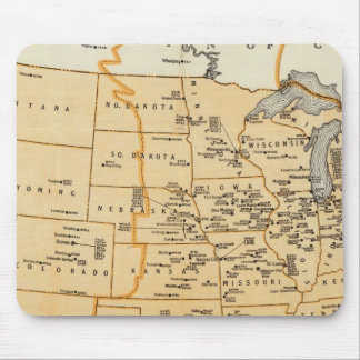 Radio Broadcasting Stations Of The United States Mouse Mat