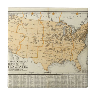 Radio Broadcasting Stations Of The United States Tile