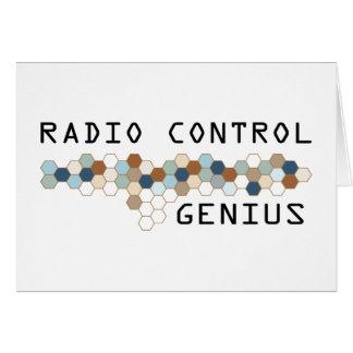 Radio Control Genius Greeting Cards