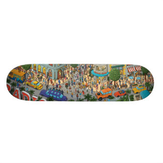 RADIO DRIVE 21.3 CM MINI SKATEBOARD DECK