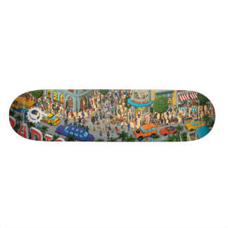 RADIO DRIVE SICKS: PEDAL STORE ver. Skate Board Deck