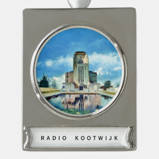 Radio Kootwijk hanger Silver Plated Banner Ornament