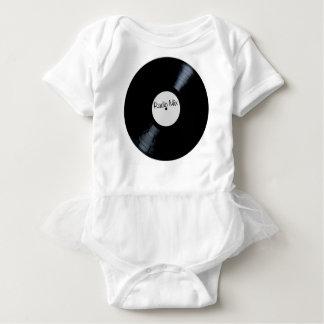 Radio Mix Record Label Baby Bodysuit