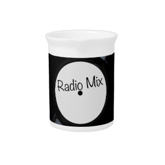 Radio Mix Record Label Pitcher