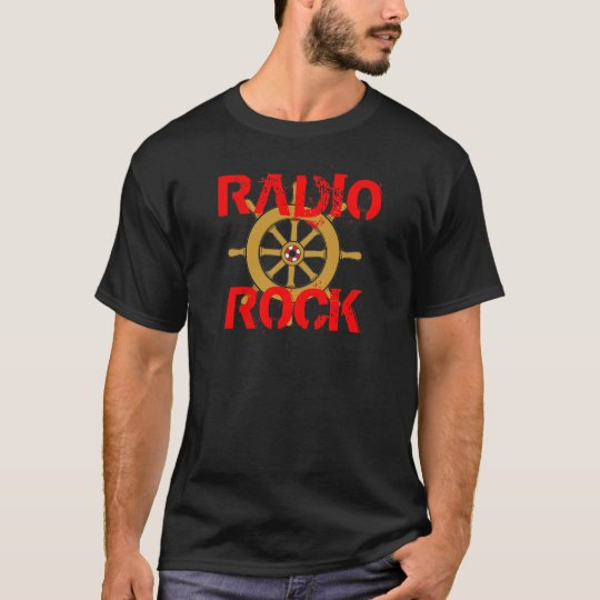 Radio Rock Floats My Boat T-Shirt