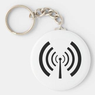 Radio Signal Bars Key Ring