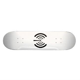 Radio Signal Bars Skate Board Deck