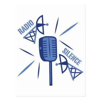 Radio Silence Postcard