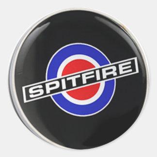 Radio Spitfire Merchandise Classic Round Sticker