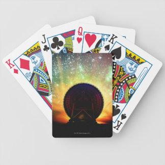 Radio Telescope Bicycle Playing Cards