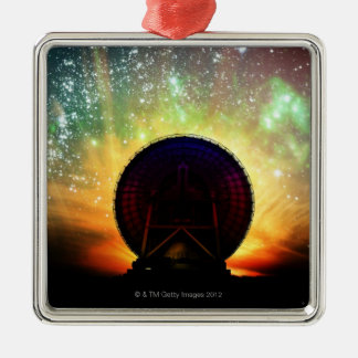 Radio Telescope Christmas Ornament