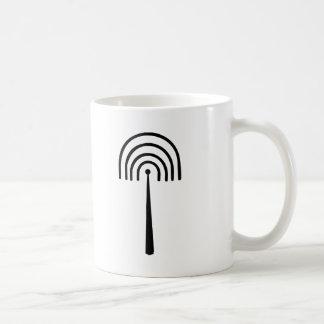 Radio tower coffee mug