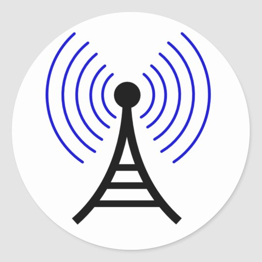Radio Tower Stickers