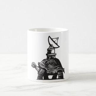 Radio Turtle Basic White Mug