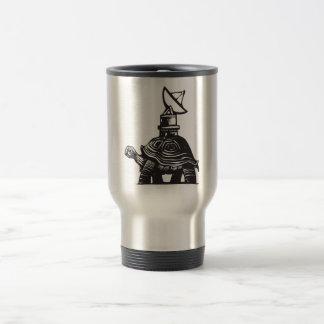 Radio Turtle Stainless Steel Travel Mug