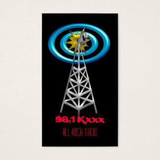 radio waves business card