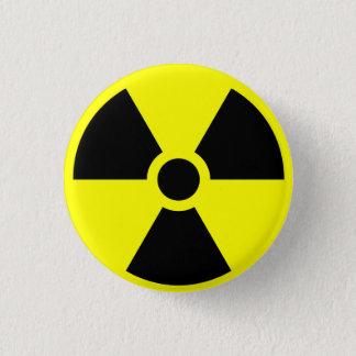 Radioactive 3 Cm Round Badge