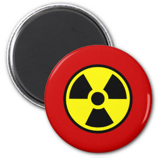 Radioactive 6 Cm Round Magnet