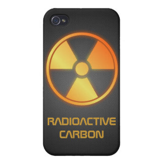 radioactive carbon fiber iPhone 4 case
