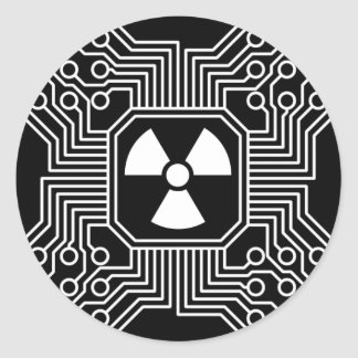 Radioactive Circuit Sticker