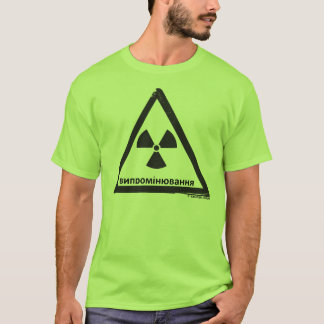Radioactive danger (RUS) T-Shirt