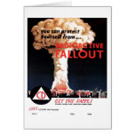 """Radioactive Fallout"" Card"