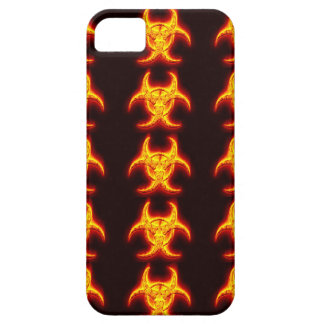 radioactive flames iPhone 5 cases