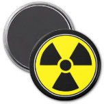 Radioactive Funny Magnet Humour