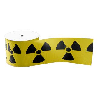 Radioactive Grosgrain Ribbon