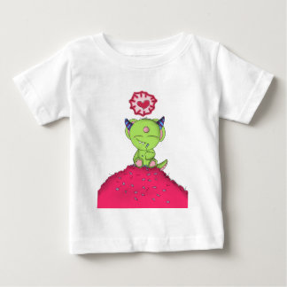 Radioactive Luv Monster Digital Art Baby T-Shirt