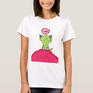 Radioactive Luv Monster Digital Art T-Shirt