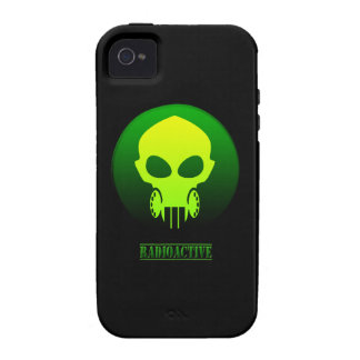Radioactive Mask iPhone 4 Cover