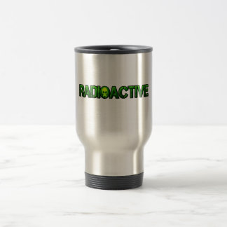 Radioactive Mask Logo Stainless Steel Travel Mug