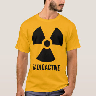 Radioactive Material Warning T-Shirt